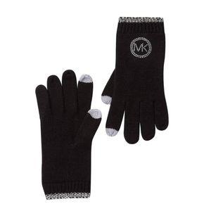 Studded Knit Tech Gloves